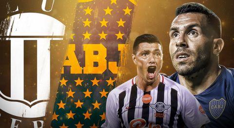Libertad vs Boca Juniors