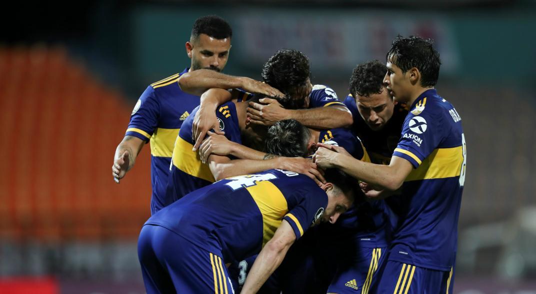 Boca vs Libertad - Copa Libertadores