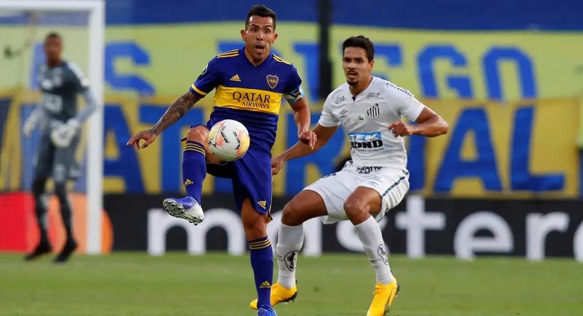 Santos vs Boca - Copa Conmebol Libertadores