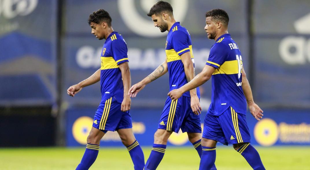 Boca vs Defensa y Justicia - Copa Liga Profesional 2021
