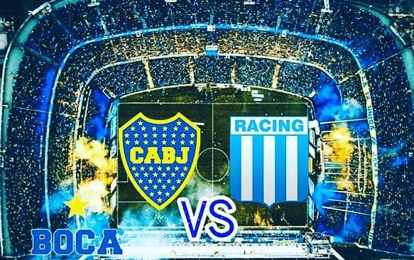 Boca vs Racing - SuperLigar Argentina