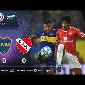 Boca 0 - Independiente 0